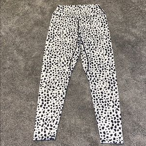 Balance athletica snow leopard leggings
